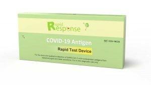 Pacote 5 de teste de antígeno de resposta rápida BTNX