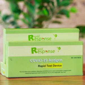 Confezione da 5 test dell'antigene a risposta rapida BTNX