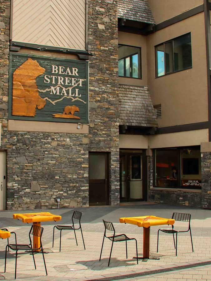 Banff Bear Street Mall