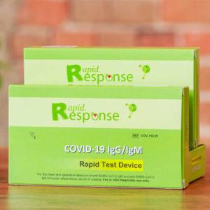 Rapid Response™ COVID-19 IgG/IgM Rapid Test Device